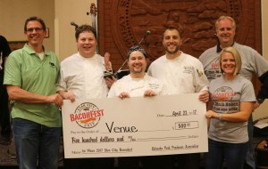 2017 Star City Baconfest First Place Winners